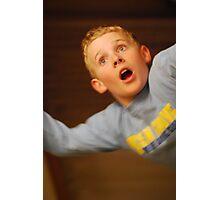 Falling Boy Photographic Print