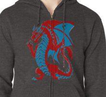 Pool Dragon Zipped Hoodie