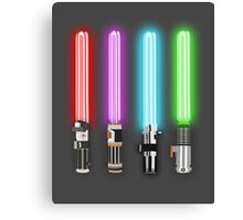 Star Wars - All Light Savers  Canvas Print