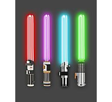 Star Wars - All Light Savers  Photographic Print