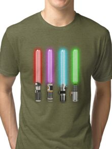 Star Wars - All Light Savers  Tri-blend T-Shirt