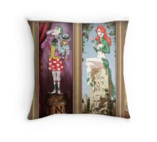 All haunted mansion Throw Pillow