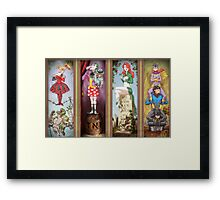 All haunted mansion Framed Print