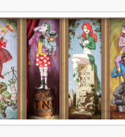 All haunted mansion Sticker