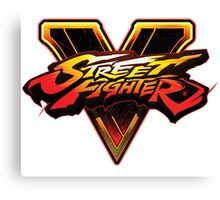 Street Fighter five V Canvas Print