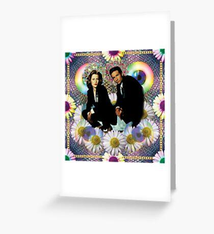 reptile muldo and skuul Greeting Card