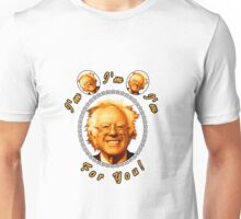 I'm Bernin', I'm Bernin', I'm Bernin' For You! (Clear / White) Unisex T-Shirt