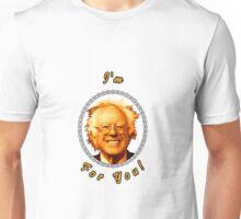 I'm Bernin' For You! (Clear / White) Unisex T-Shirt