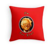 I'm Bernin' For You! (Red / Black) Throw Pillow