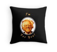 I'm Bernin' For You! (Black / White) Throw Pillow