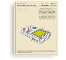COMPACT VIDEO GAME SYSTEM (1993) Canvas Print