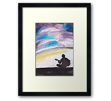 His Song Framed Print