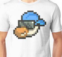 Large Blue Hat Chancy Unisex T-Shirt