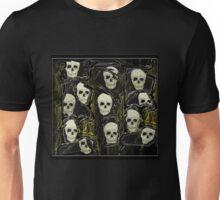 Wall of Skulls Unisex T-Shirt