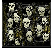 Wall of Skulls Photographic Print