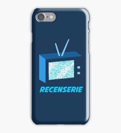 Recenserie Logo iPhone Case/Skin