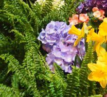 Gallery Flowers Sticker