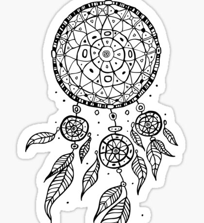 Dream Catcher.  Sticker