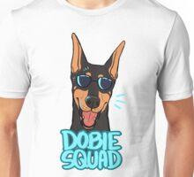 DOBIE SQUAD (black + cropped) Unisex T-Shirt