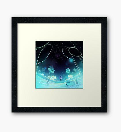 waterfall 3/3 Framed Print