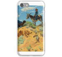 WALTER UFER  The Watcher iPhone Case/Skin