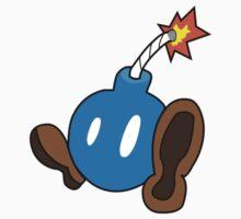 Big Cute Blue Bomb Baby Tee