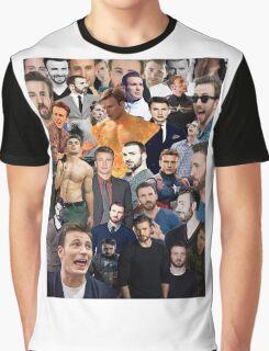 Chris Evans Collage  Graphic T-Shirt
