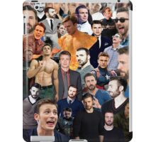 Chris Evans Collage  iPad Case/Skin