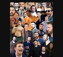 Chris Evans Collage  Unisex T-Shirt
