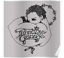 Paradise Garage logo Poster