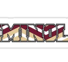 FSU Seminoles Spirit Sticker