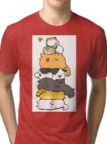 A Pile of Nekos Tri-blend T-Shirt