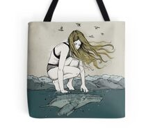 The big and the small one Tote Bag