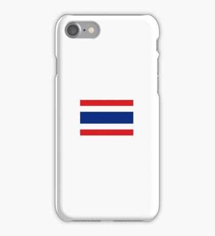 National flag of Thailand iPhone Case/Skin