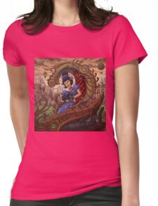 Madame Mollusk Womens Fitted T-Shirt