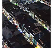 Shinjuku Golden Gai from above Photographic Print