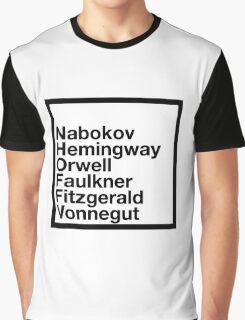 Famous Authors Graphic T-Shirt