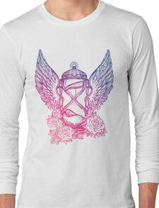 Winged Hourglass Long Sleeve T-Shirt