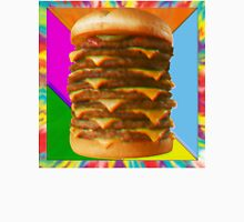 Psychedelic Burger Unisex T-Shirt