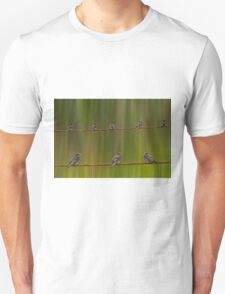 birds on the wire T-Shirt