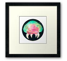 Galaxy Metroid  Framed Print