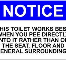 Please Don't Pee On The Floor by Bundjum