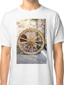One Wheel From My Waggon Classic T-Shirt