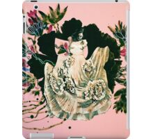 woman and prehistorical plant iPad Case/Skin
