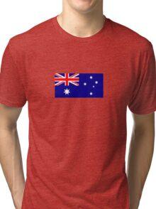 National flag of Australia Tri-blend T-Shirt