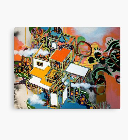 untitled 3 (or: brave new world ) Canvas Print
