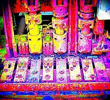Industriemaschine - Industry Mashine - Industriekultur - Industry culture by Marion Waschk