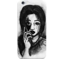 Portrait of a girl iPhone Case/Skin
