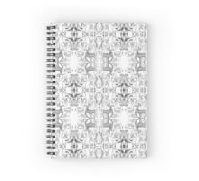 Telling a story pattern Spiral Notebook
