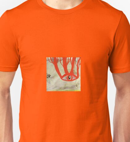 Nature eye reaching out to Roo paw Unisex T-Shirt
